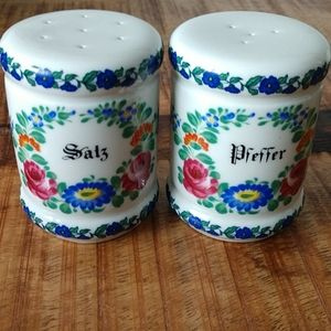 Salt and Pepper shakers. German